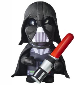 Star Wars Knuffel Go glow Darth Vader Saber