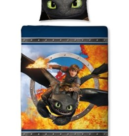 Dreamworks Dragons Dekbedovertrek Toothless