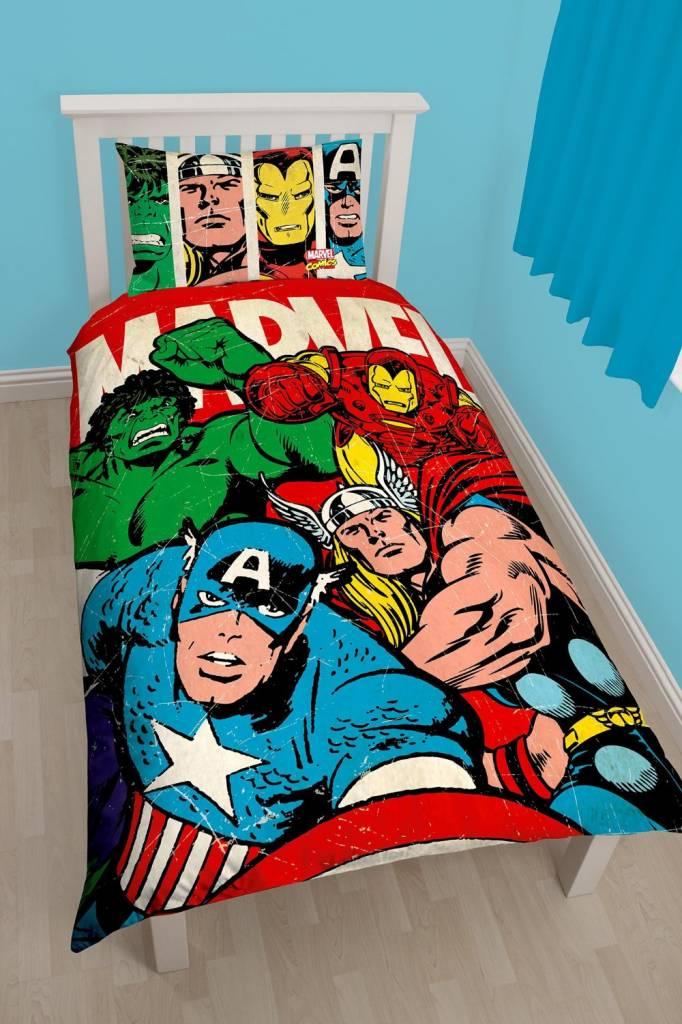 Marvel Marvel Dekbedovertrek Comics Strike