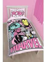 Marvel Dekbedovertrek Comics Pastels