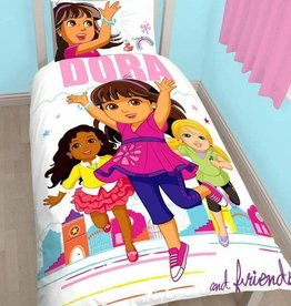 Nickelodeon Dora and Friends Citygirl Dekbedovertrek