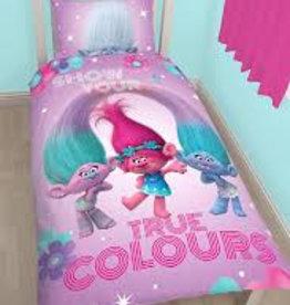 Trolls True Colours Dekbedovertrek