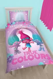 Dreamworks Trolls True Colours Dekbedovertrek