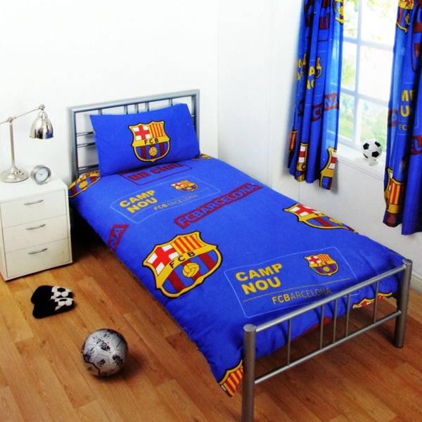 FC Barcelona FC Barcelona Rood Blauw Dekbedovertrek