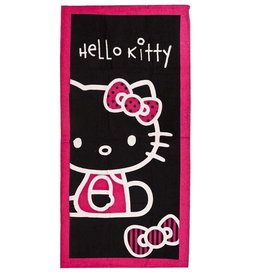 Sanrio  Hello Kitty Strandlaken Strik Zwart