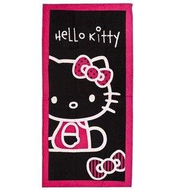 Sanrio  Hello Kitty Strandlaken Strikje Zwart