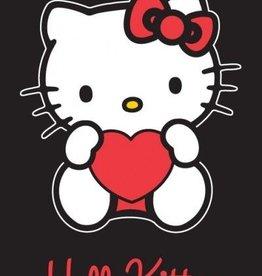 Hello Kitty Strandlaken Heart Black