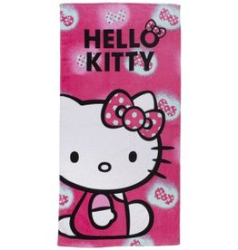Sanrio  Hello Kitty Handdoek Roze Strikje