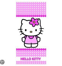 Hello Kitty Handdoek Stipje