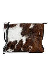 Carelli Italia Hippe Clutch Sassari Koeienprint Small