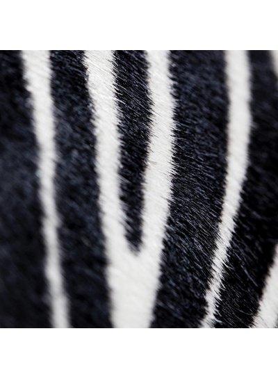 Carelli Italia Hippe Clutch Sassari Zebra print Small