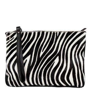 Hippe Clutch Sassari Zebra print