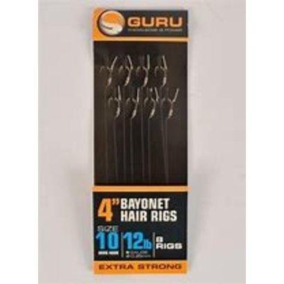 """guru 4"""" bayonet hair rigs"""