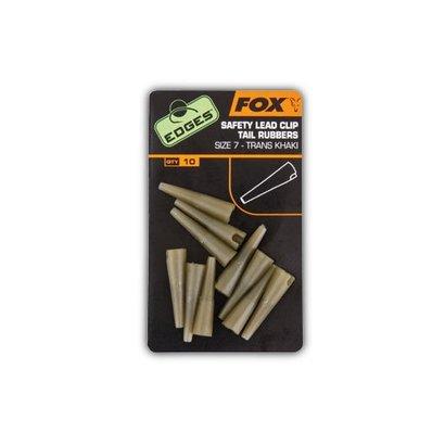 Fox Edges Lead Clip Tail Rubbers