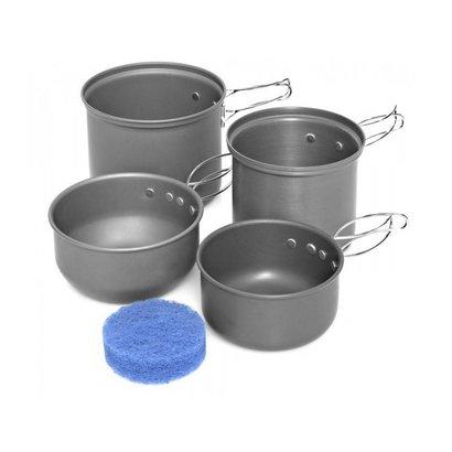 Trakker Armolife Four-Piece Cookware Set
