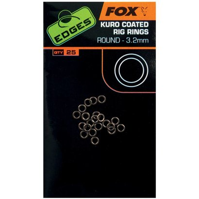 Fox Edges Kuro Coated Rig Rings