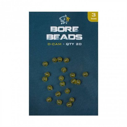 Nash Bore Beads 3mm