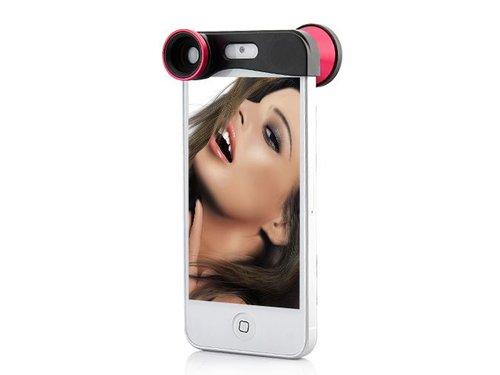 3 линзы для iPhone 5 5s Макро Фишай Широкий