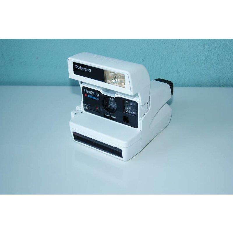 White Polaroid One Step 600 Белый Эксклюзив