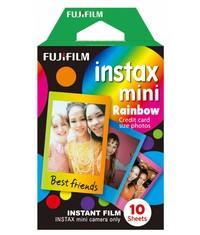 Кассета Fuji Instax с разноцветными рамками Радуга