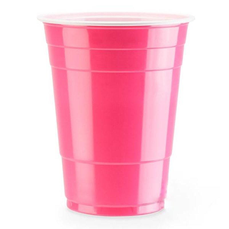 Розовые стаканчики Pink Cups для вечеринки