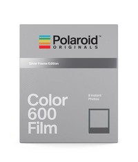 Кассета Polaroid Color Film 600 Silver Frame