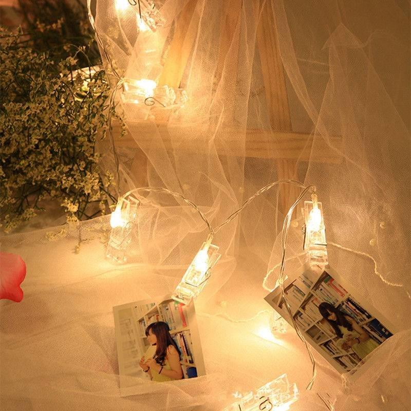 Гирлянда с подсветкой для фотографий Polaroid Instax