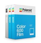 Три картриджа кассеты Polaroid 600