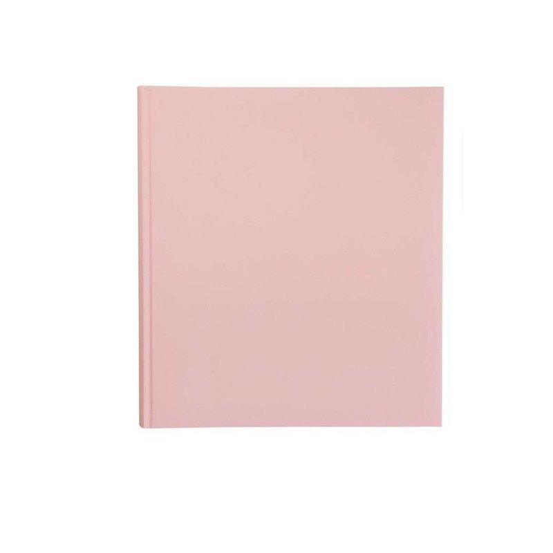 Розовый фотоальбом для вклеивания 32,5*28,5 см