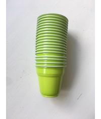 Зелёные стаканчики шоты 20 шт
