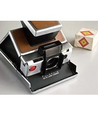 Насадка, макро линза и бленда для Polaroid SX-70