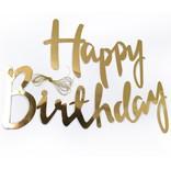 Гирлянда Happy Birthday 3 метра