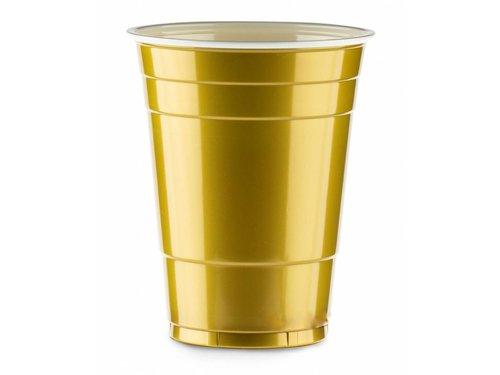 Золотые стаканы Gold Cups для вечеринки