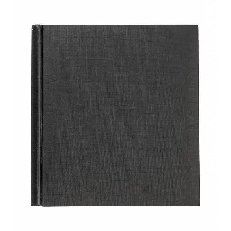 Большой черный фото альбом с черными листами