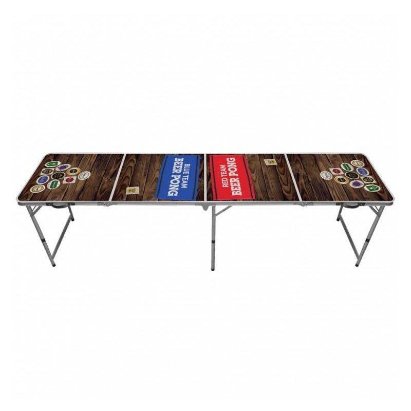"""Стол для beer pong """"красные и синие"""""""