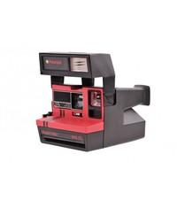 Красный Polaroid 645 Supercolor