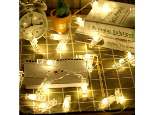 Гирлянда с прищепками Instax Polaroid 3 метра