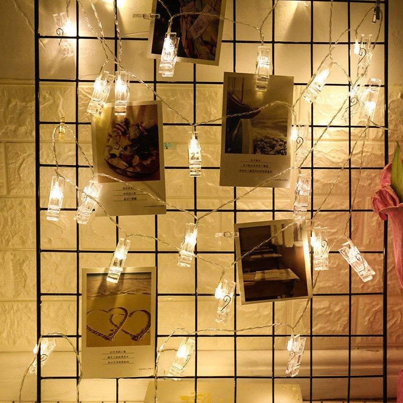 Гирлянда с прищепками Polaroid 3 метра