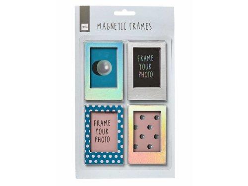 4 магнитные рамки Instax mini / polaroid pic 300