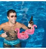 Мини фламинго под стаканчики надувные