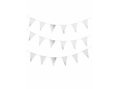 Серебристые флажки 6 метров