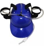 Пивная каска для вечеринки с трубкой