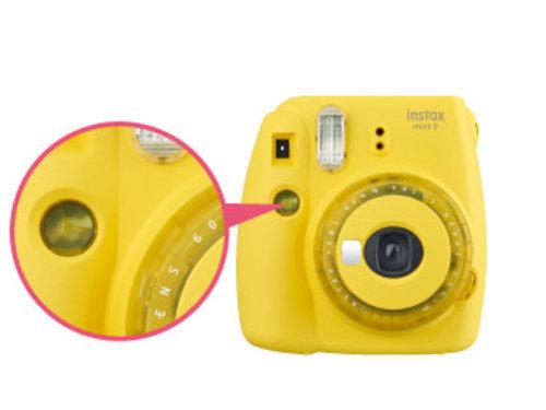 Fujifilm Instax mini 9 желтый