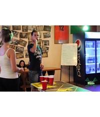 Судья, стол и аксессуары для Beer Pong на вашем празднике