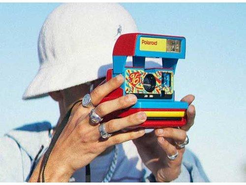 Polaroid 600 Jazz Red Polaroid Originals