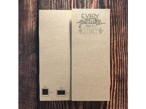Крафт альбом Instax Wide и Polaroid 600