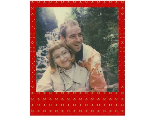 Картридж Polaroid 600 праздничные красные рамки