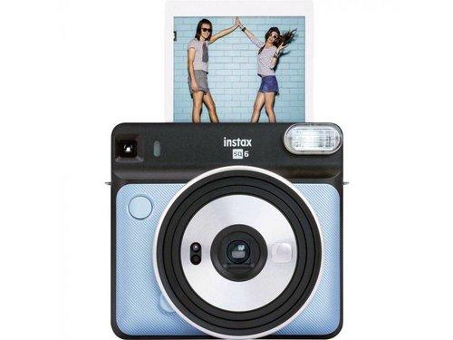 Фотоаппарат Fujifilm Instax SQ 6 голубой Aqua Blue