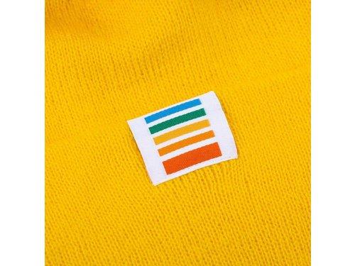 Зимняя шапка бини от Polaroid Originals желтая
