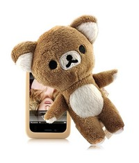 Чехол с куклой Rilakkuma iPhone 4/4S